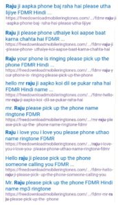 raju i love you please phone uthaiye ringtone
