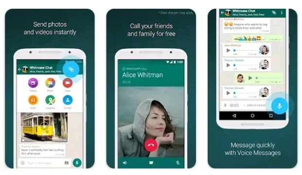 Whatsapp video Calling app