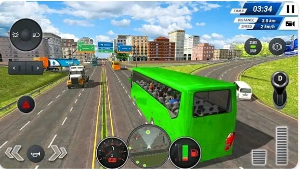 Free 2019 bus wali game