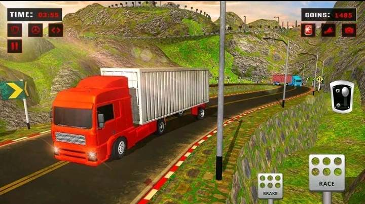 Indian truck driving game