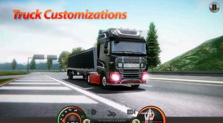 Truck game for android