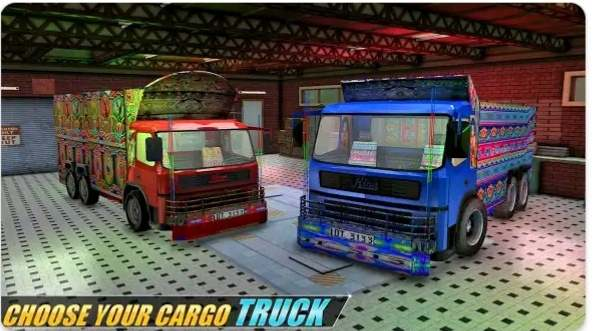 Indian truck wali game