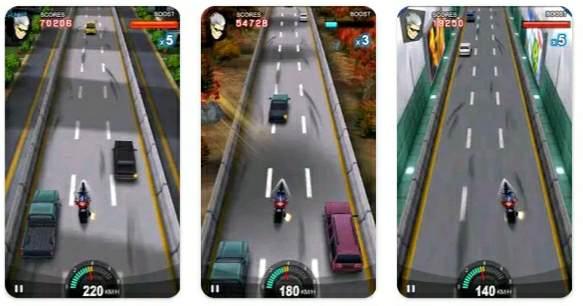 Racing Moto bike ka game